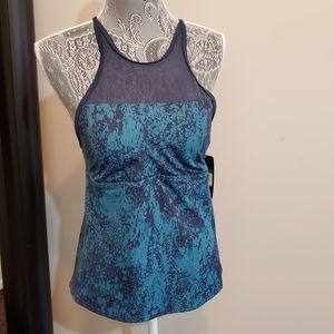 New! Nike Criss Cross Tank Top with Bra Liner